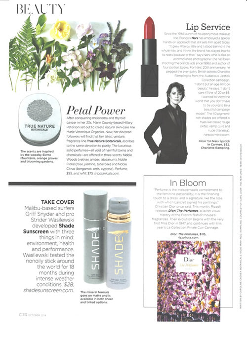 C Magazine Features Solid Perfume