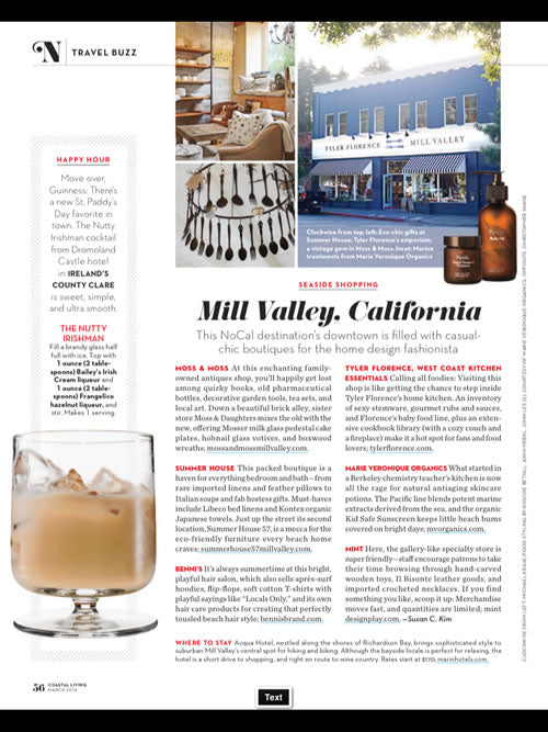 Coastal Living Features Pacific Cleanser
