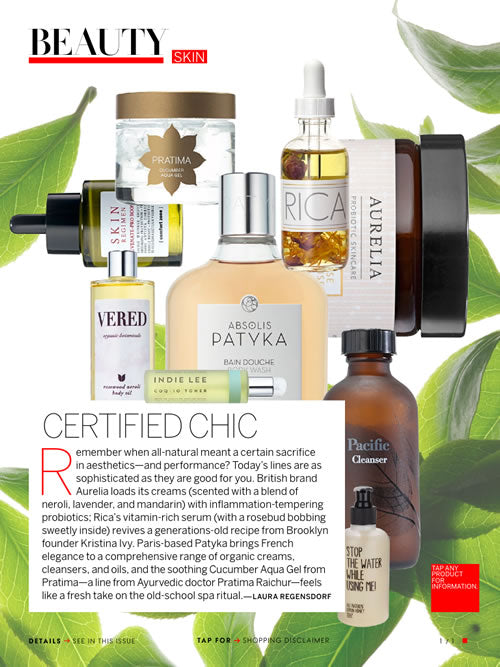 Vogue Features Pacific Cleanser