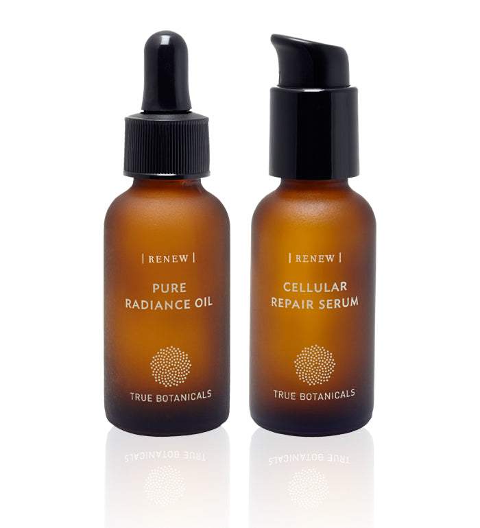Pure Radiance Oil, RENEW + Cellular Repair Serum, RENEW Clinical Trial Results