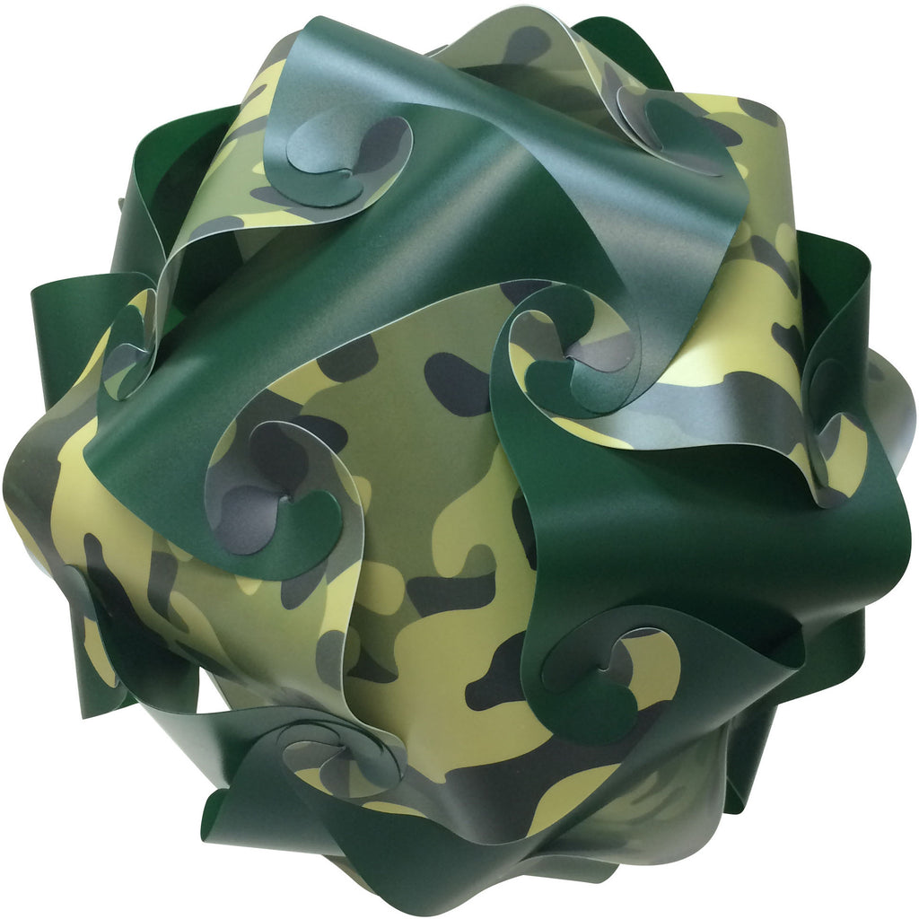 LuvALamps Camo Print Kit mix with Dark Green