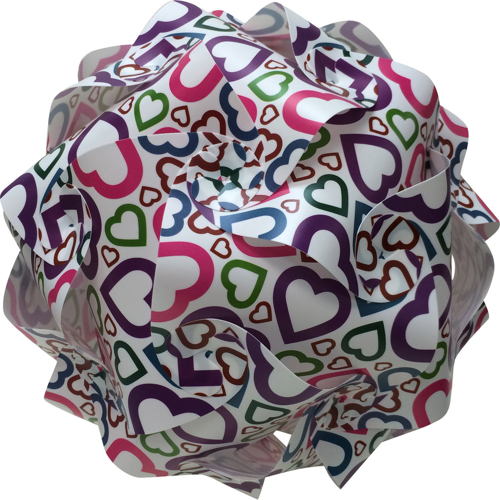 LuvALamps Multi Hearts Print Kit