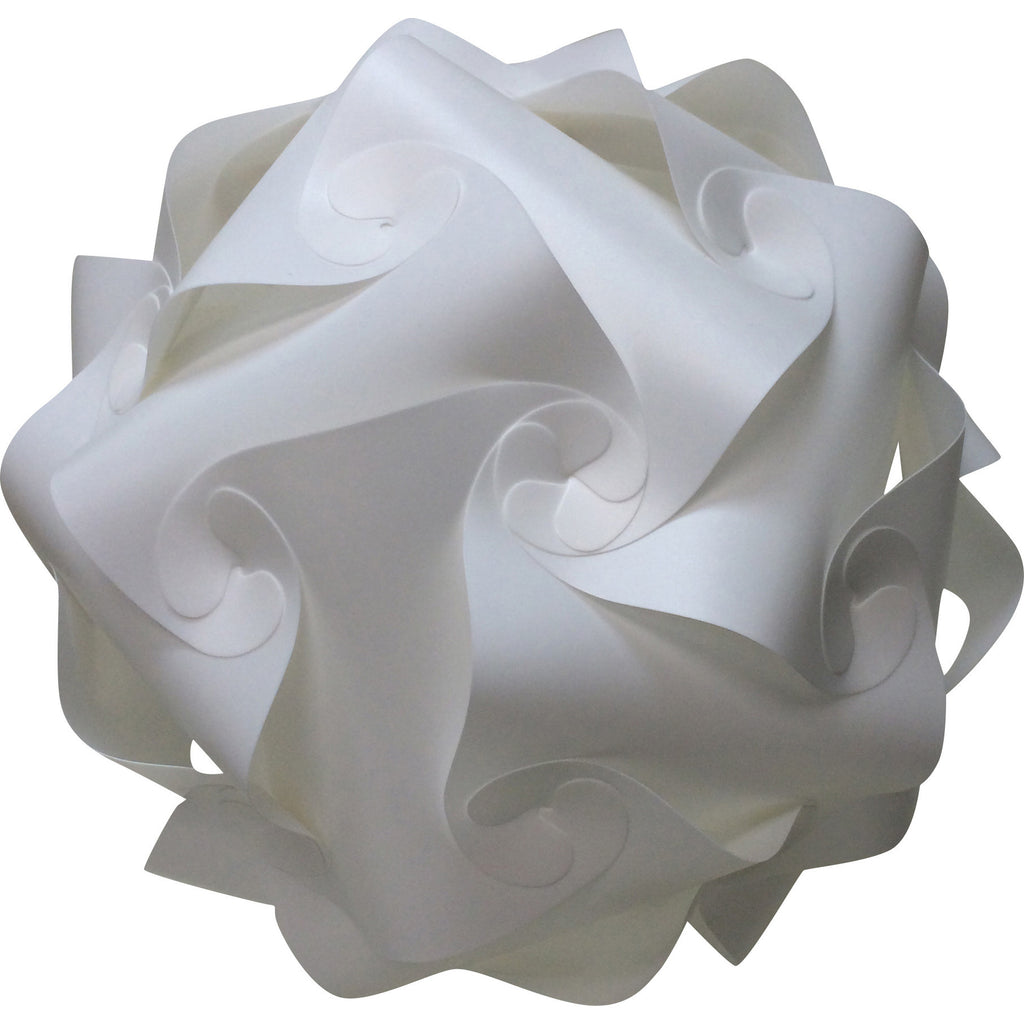 LuvALamps White Sphere with lights on
