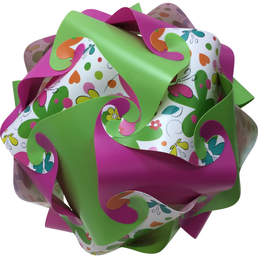 LuvALamps Butterfly Print Kit mix with Lime Green and Pink