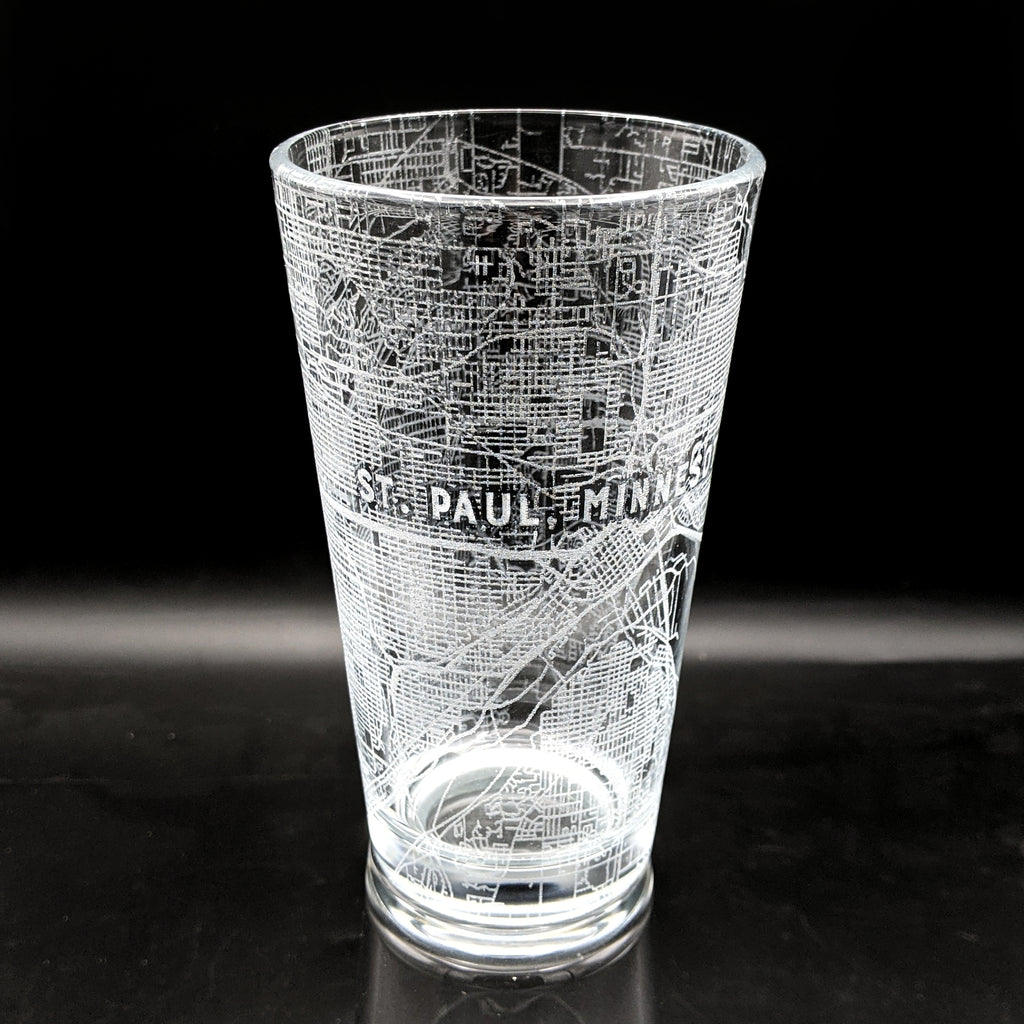 ST PAUL, MN - Engraved Pint Glass