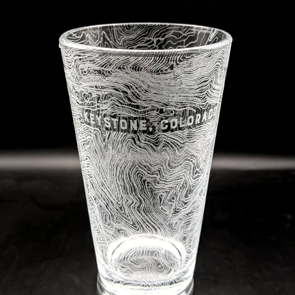 KEYSTONE, CO - Engraved Pint Glass