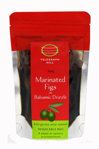 Marinated Figs in Balsamic Drizzle