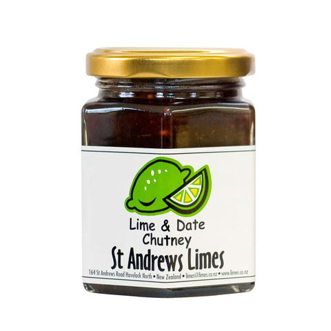 Lime and Date Chutney 230g