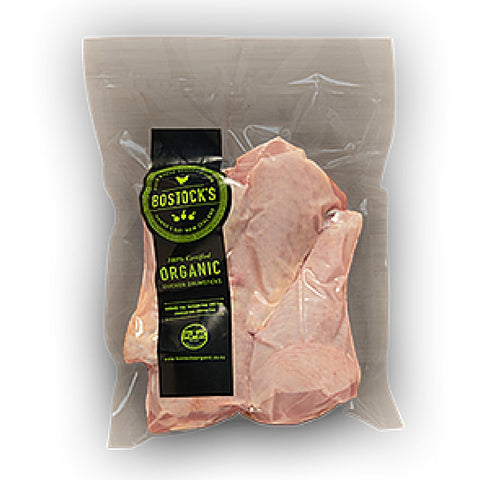 Bostocks Organic Chicken Drumsticks 500g