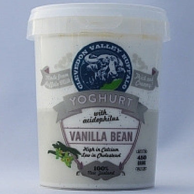Clevedon Valley Buffalo Vanilla Bean yoghurt 450ml