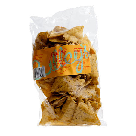 Culleys Natural Corn Chips 200g