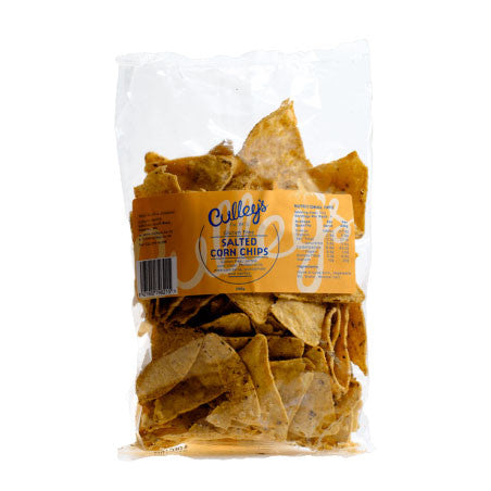 Culleys Salted Corn chips 200g