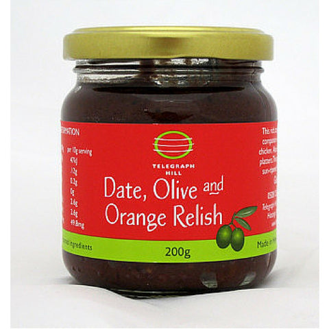 Date, Olive and Orange Relish - Telegraph Hill