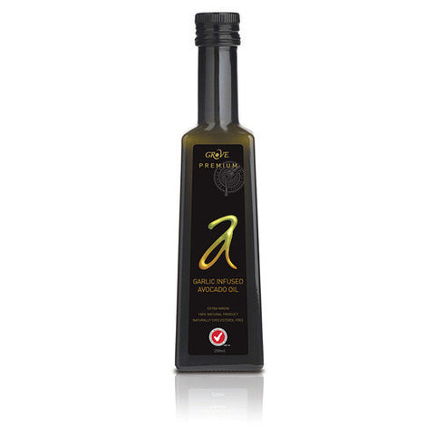 Grove Premium Garlic Infused Extra Virgin Avocado Oil 250ml