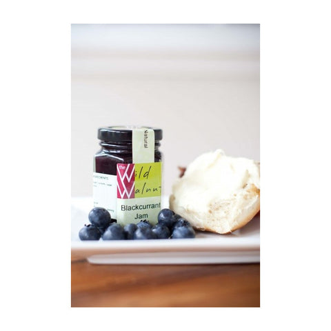 Wild Walnut Blackcurrant jam 210g