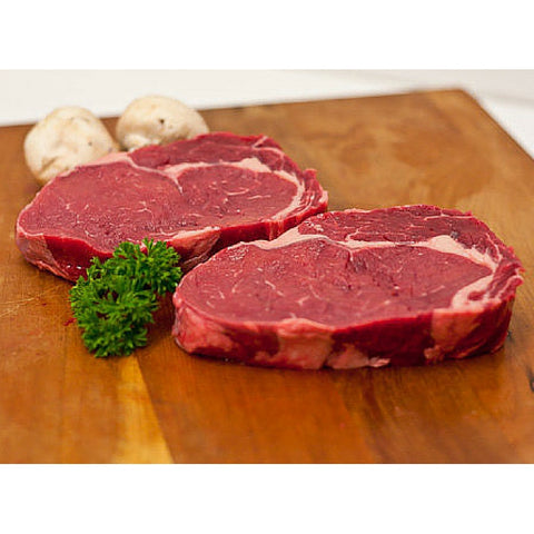 Organic Scotch Fillet steaks