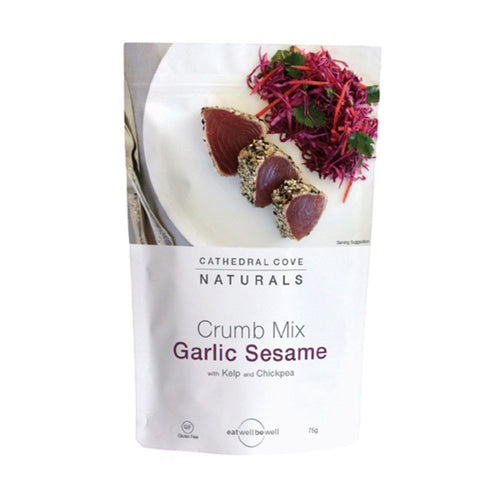 Garlic Sesame Crumb mix 75g - Cathedral Cove Naturals
