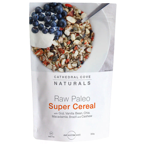 Raw paleo Super Cereal Cathedral cove naturals