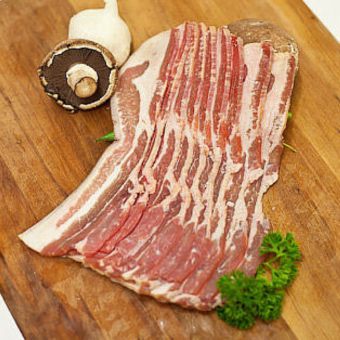 Premium Streaky bacon Moorish 200g