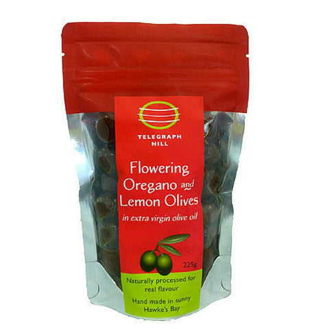 TH Flowering oregano & Lemon olives 225g