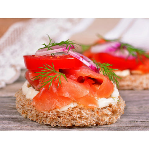 Akaroa Cold smoked salmon 100g