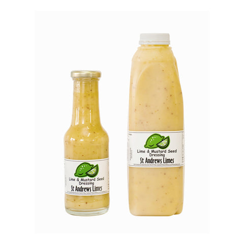 Lime and Mustard Seed Dressing 300ml