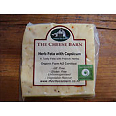 Organic Feta Herb with Capsicum 125g