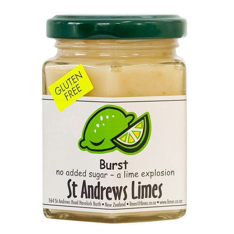 St Andrews limes Burst pesto