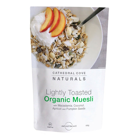 Organic Muelsi Cathedral Cove 400g