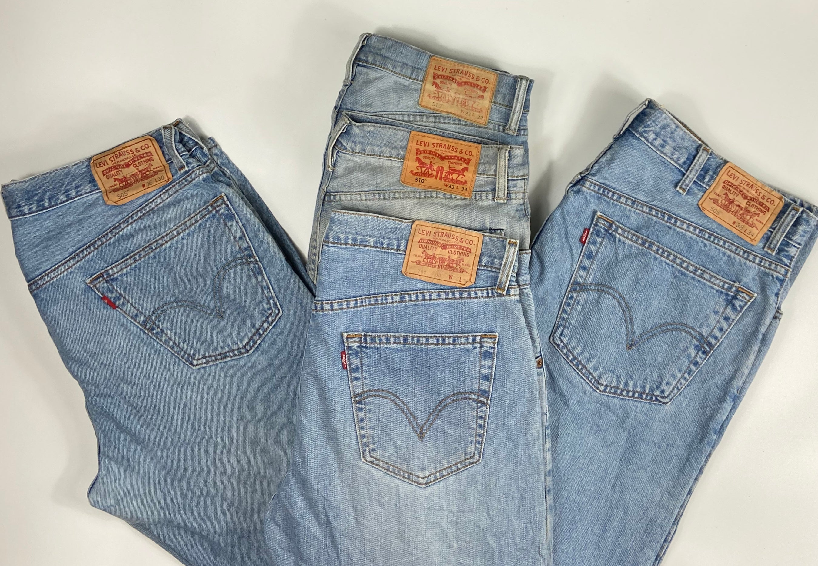 Vintage Original Levi's 501 Button Fly Jeans Waist 30 Length 32