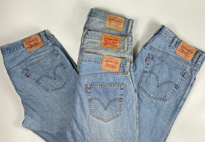 Vintage Original Levi's 501 Button Fly Jeans Waist 44 Length 30