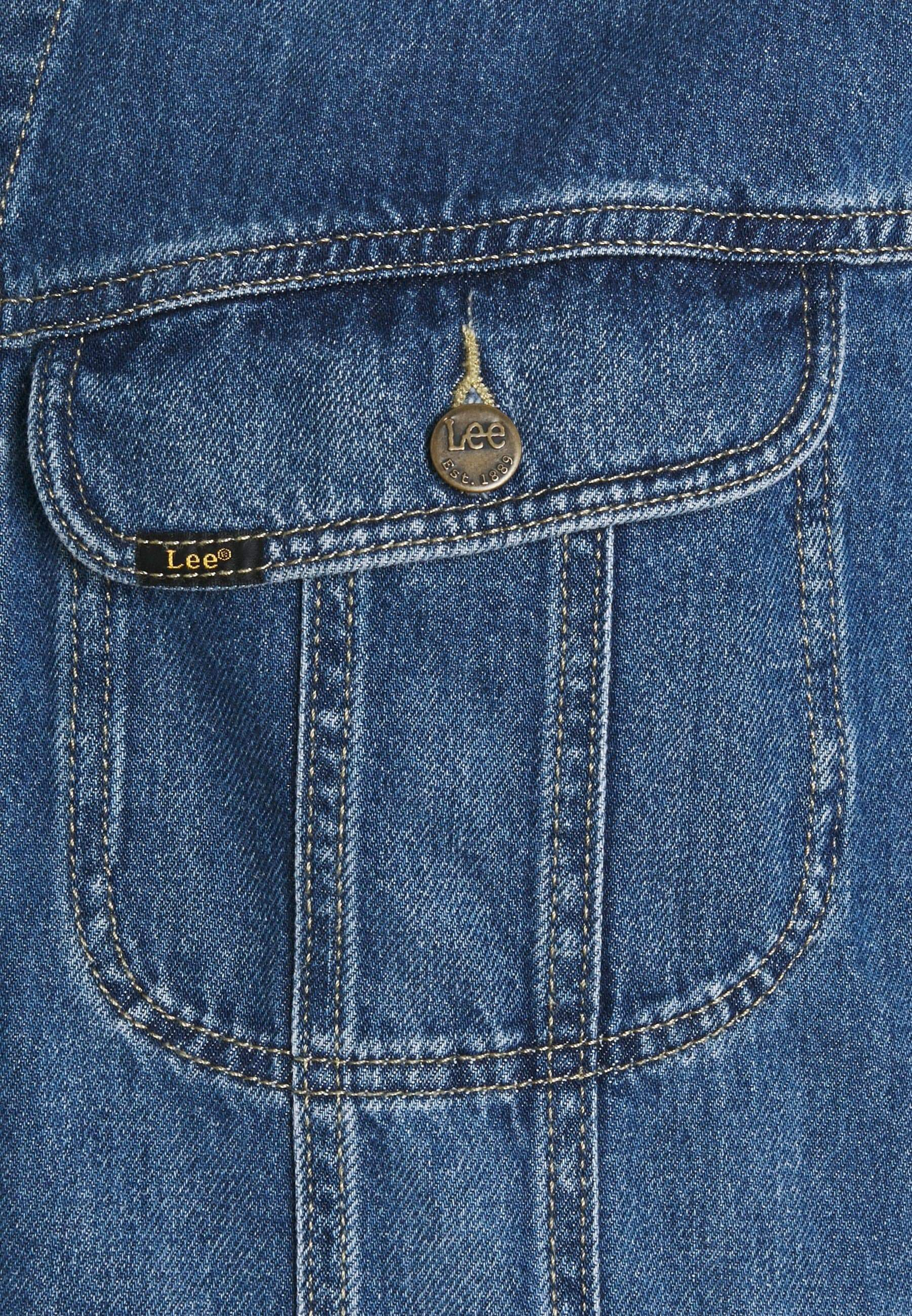 Men's Vintage Original LEE Blue Denim Jacket