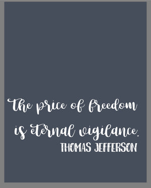 Patriotic Digital downloads / founding fathers quotes, Fourth of July prints