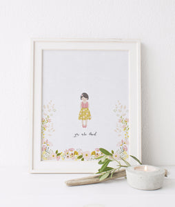 child portrait, whimsical portrait, childrens portrait, art portrait