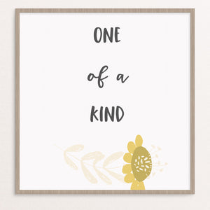 one of kind print, nursery print, gallery wall print, inspiring words
