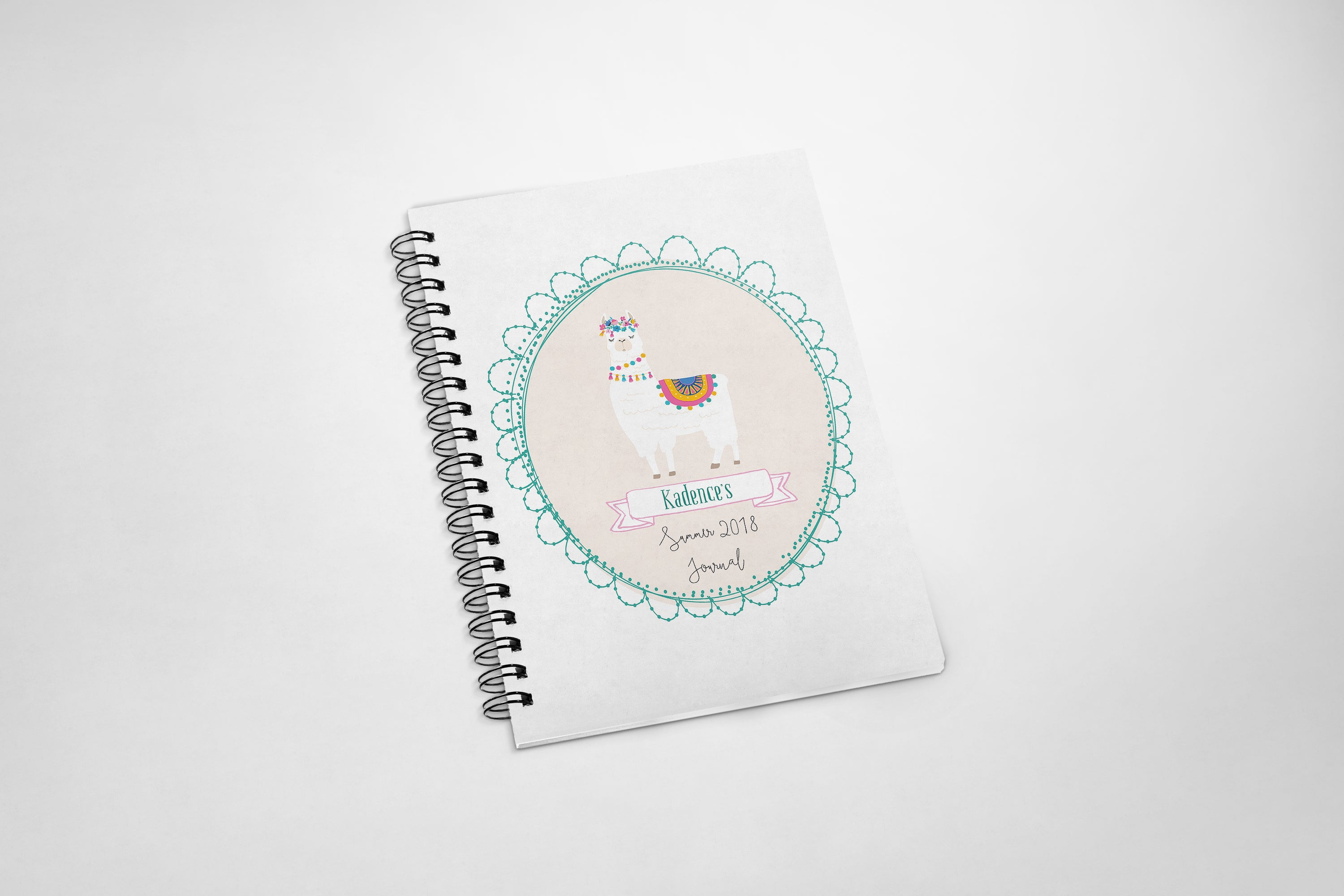 summer journal, kids summer activity journal, summer organizer, personalized journal