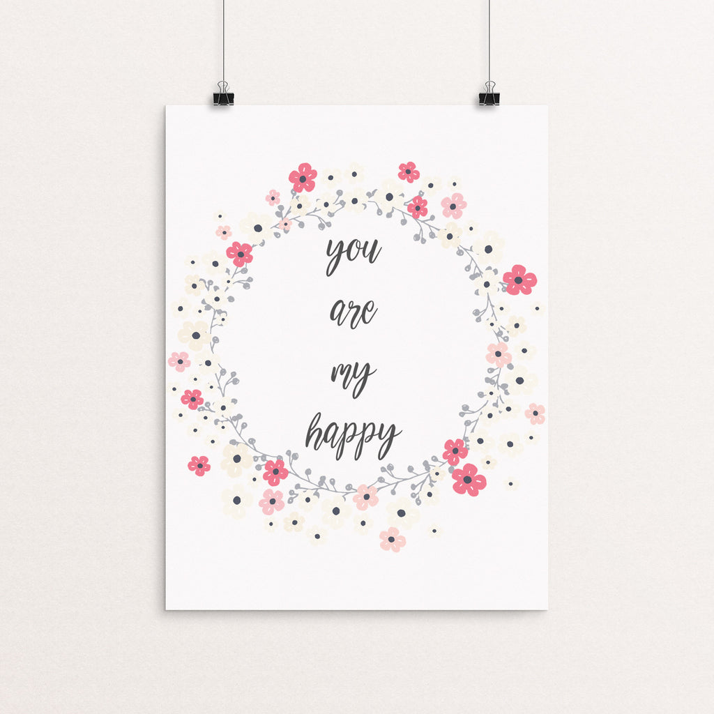 you are my happy print, nursery print, gallery wall, family art