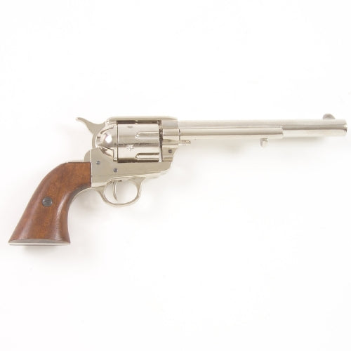 M1873 Cavalry Barrel Revolver- Non-Firing/ Nickel Finish
