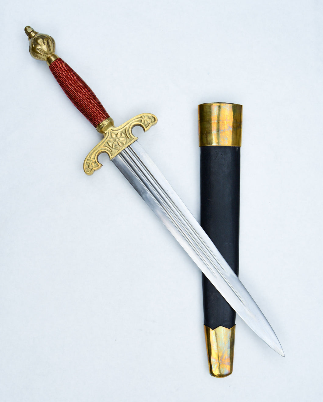 English Dagger with Scabbard