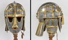 Load image into Gallery viewer, Sutton Hoo Deluxe Helm - 18 Gauge Steel