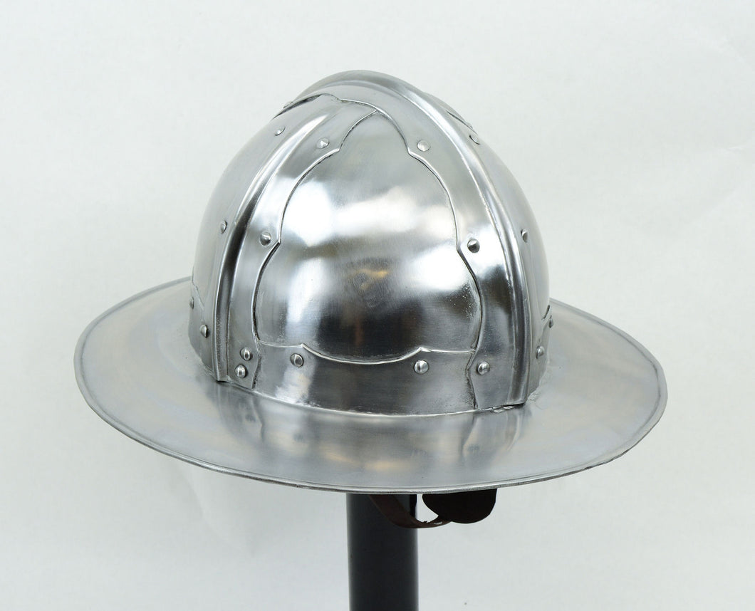 Late Medieval Kettle Helm- 16 Gauge