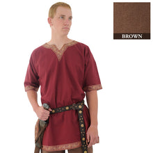 Load image into Gallery viewer, Viking Shirt, Brown