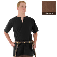 Load image into Gallery viewer, Medieval Tunic, Brown