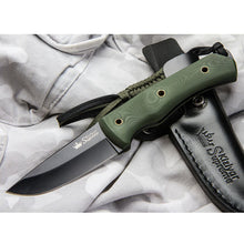 Load image into Gallery viewer, Kid 440C-Black Titanium Knife