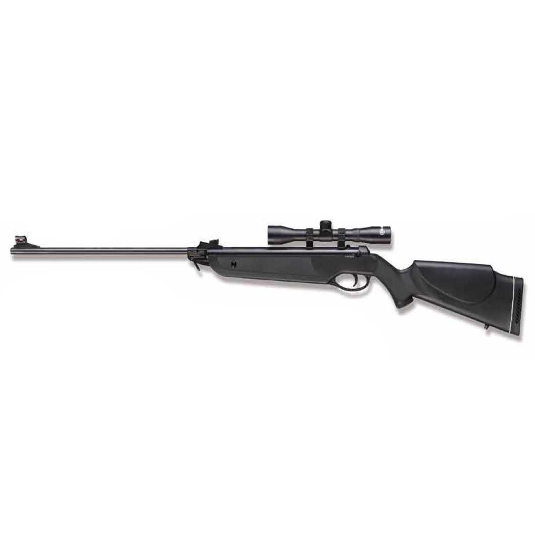 Marksman .177 Marksman Air Rifle Combo, Synthetic Stock, with 4 x 32 scope & mounts