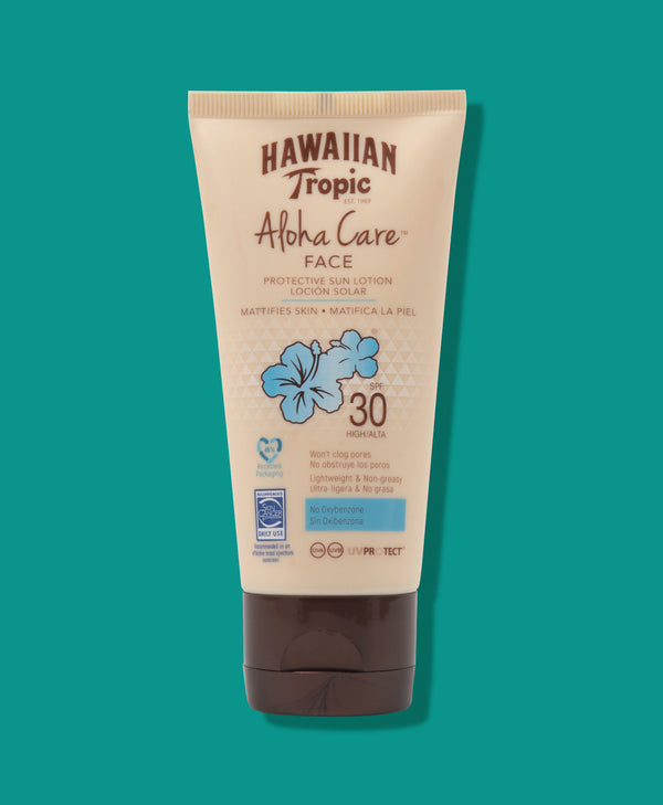 Hawaiian Tropic Aloha Care Protective Face Lotion SPF30 90ml