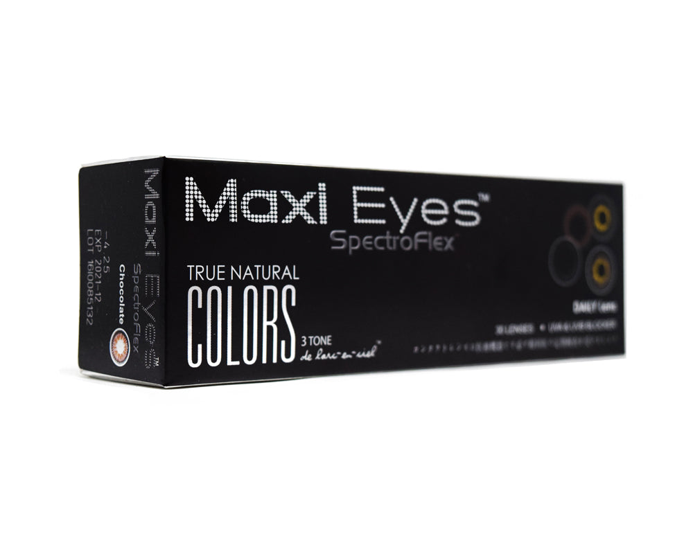 Maxi Eyes 3 Tone Natural Colors Series - Maxi Eyes