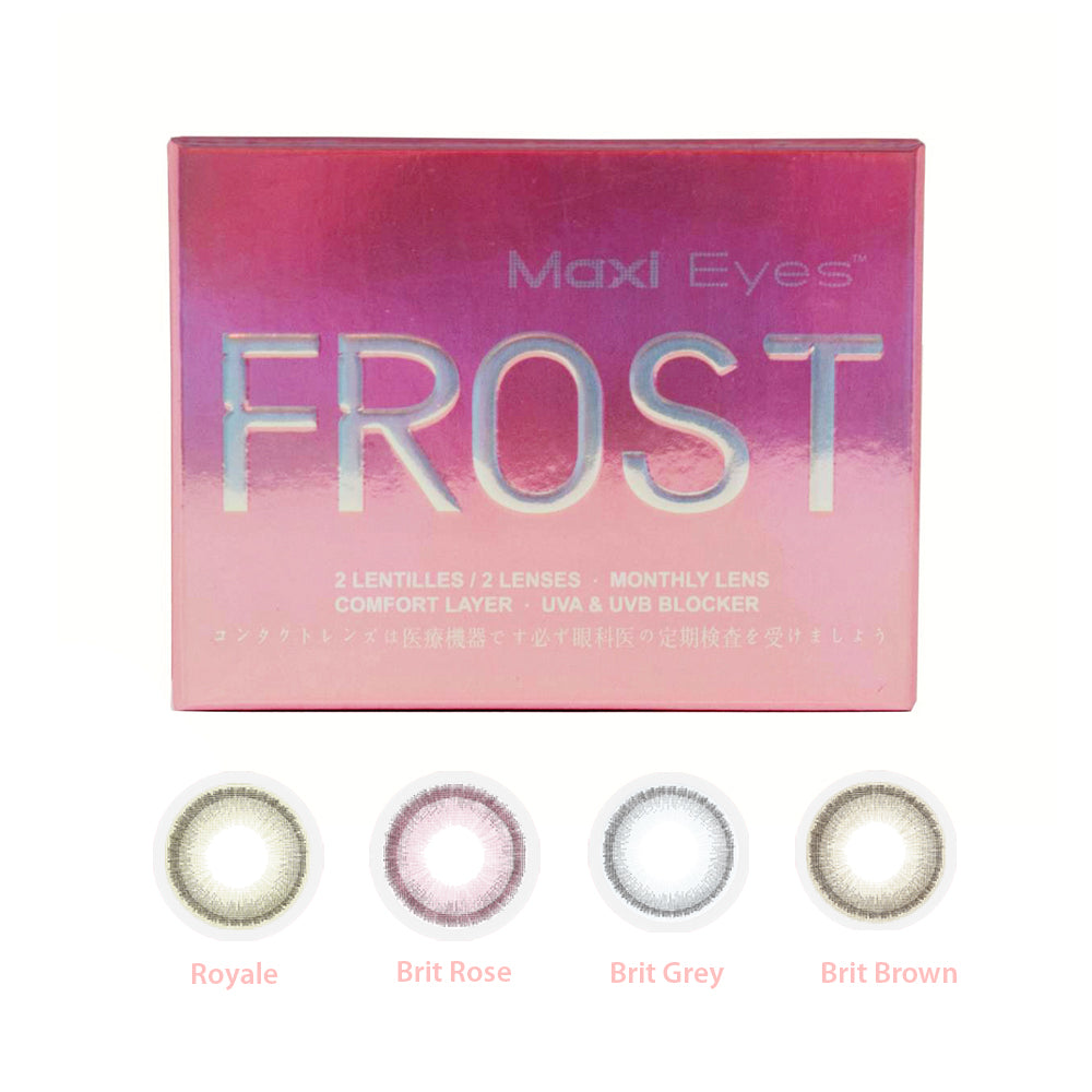 Maxi Eyes Frost Series Contact Lens