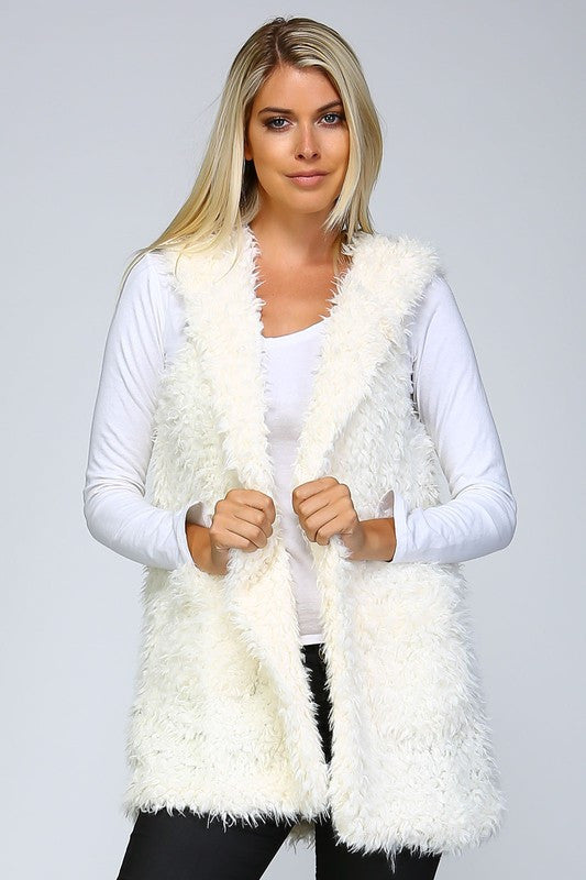 Lady Lane Shaggy Vest