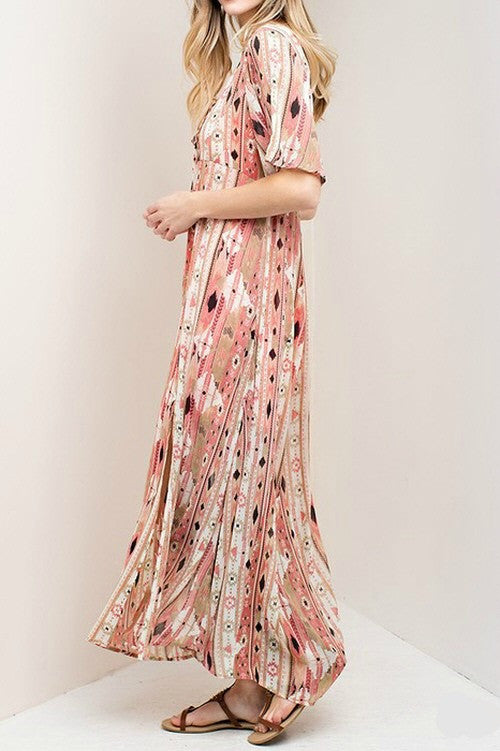 Dream Big Tribal Maxi Dress